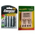 Energizer Rechargeable Battery With Charger