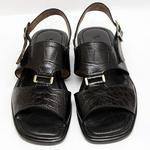 H&S Casual Sandals - Black