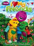 Barney I Love My Friends Dvd-6dvd Set