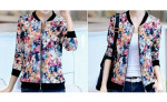 SynGeTters World Ladies Floral Mm Print Jacket