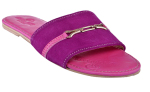 PROUD+WEARS+VENTURES+Proud-fits+Lady%27s+Suede+Slippers+Pink