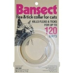 Sergeants Bansect Flea And Tick Cat Collar