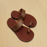 Sam P New Design Slippers-brown