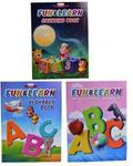 Fun & Learn Alphabet Book & Counting Book & General Knowledge Book