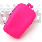 Silicone+Cell+Phone+Pouch+-+Pink