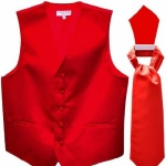 Sleek Waist Coat And Cravat