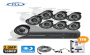 Avena Security Accessories Ltd Complete 6 Cctv Security Kit + 2tb Hdd