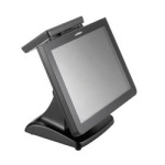 Touch+All-in-1+Screen+Pc+Pos+Terminal+With+Attached+Customer+Display