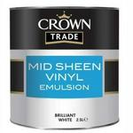 Crown Trade Mid-sheen Emulsion